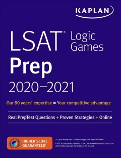 LSAT Logic Games Prep 2020-2021 : Real Preptest Questions + Proven Strategies + Online