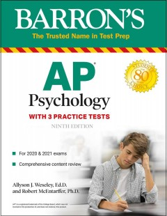 Ap Psychology : With 3 Practice Tests