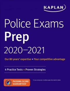 Police exams prep 2020-2021. 4 Practice Tests + Proven Strategies