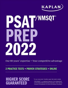 PSAT/NMSQT prep 2022.