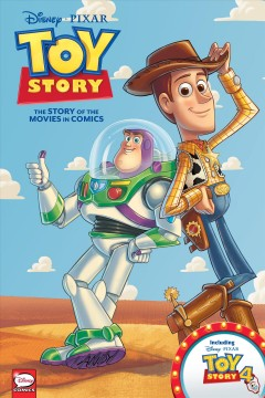 Toy story : the story of the movies in comics / script adaptation, Alessandro Ferrari.