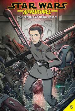 Star Wars Adventures 5 : The Trouble at Tibrin