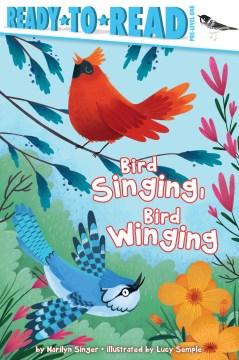 Bird singing, bird winging