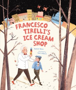 Francesco Tirelli's ice cream store