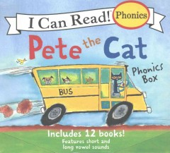 Pete the cat phonics box / 12 Books in 1