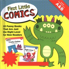 First little comics guided reading levels A&B : 20 funny books that are just the right level for new readers