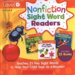 Nonfiction sight word readers : guided reading level D