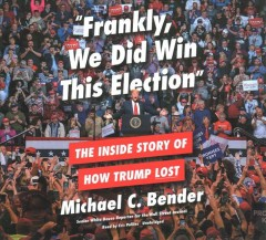 Frankly, We Did Win This Election (CD)