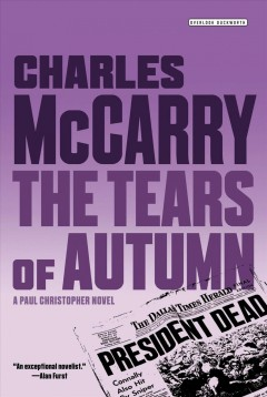 Tears of autumn : a Paul Christopher novel Charles McCarry.
