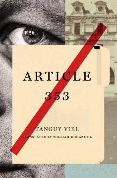 Article 353 : a novel