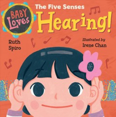 Baby loves the five senses hearing!