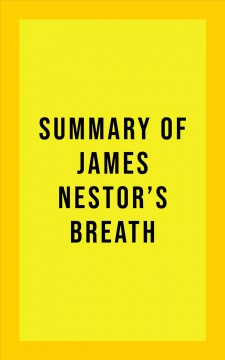Summary of James Nestor's Breath