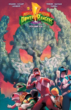 Mighty morphin power rangers. Issue 21-24 Kyle Higgins, Ryan Ferrier.