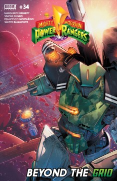 Mighty morphin power rangers. Issue 26 Kyle Higgins, Ryan Ferrier.