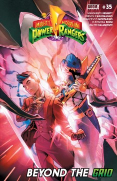 Mighty morphin power rangers. Issue 35 Marguerite Bennett and Ryan Ferrier.
