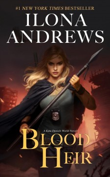 Blood Heir Ilona Andrews.
