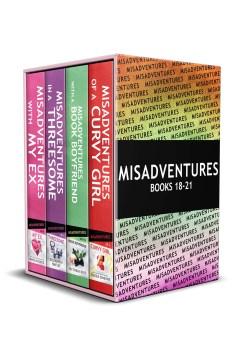 Misadventures series anthology: 4. Books #18-21 Sierra Simone, Victoria Blue and Elizabeth Haley.