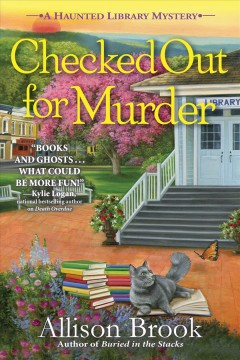Checked out for murder / Allison Brook.