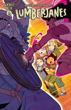 Lumberjanes. Issue 68, Time after crime