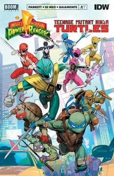 Mighty Morphin Power Rangers/Teenage Mutant Ninja Turtles #1. Issue 1