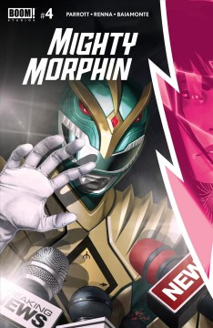 Mighty Morphin. Issue 4