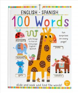 Slide and Seek 100 Words English-Spanish