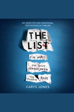 The list [electronic resource] / Carys Jones.