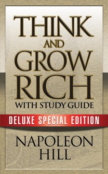 Think and grow rich with study guide Napoleon Hill.