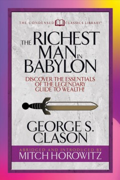 The richest man in Babylon George S. Clason.