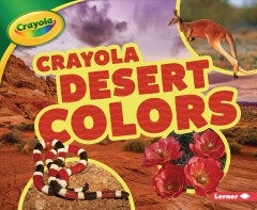 Crayola desert colors