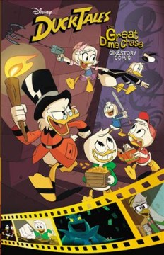 Disney Ducktales : The Great Dime Chase! Cinestory Comic
