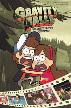 Disney Gravity Falls Cinestory Comic 5