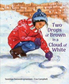 Two Drops of Brown in a Cloud of White
