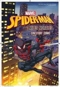 Marvel's Spider-man - Miles Morales Cinestory Comic