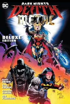 Dark nights : death metal / Scott Snyder, writer ; Greg Capullo, penciller ; Jonathan Glapion, inker ; FCO Plascencia, colorist ; Tom Napolitano, letterer ; with Yanick Paquette and Bryan Hitch, epilogue artists ; Nathan Fairbairn and Alex Sinclair, epilogue colorists ; Greg Capullo, Jonathan Glapion, and FCO Plascencia, collection cover artists.