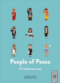 People of peace / 40 Inspiring Icons