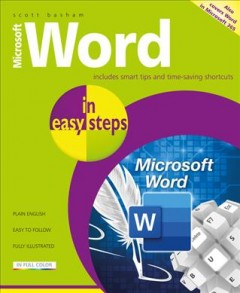 Microsoft Word in Easy Steps : Covers Ms Word in Office 365 Suite