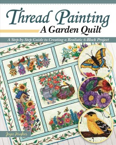 Thread painting block of the month / A Step-by-step Guide to Creating a Realistic 6-block Project
