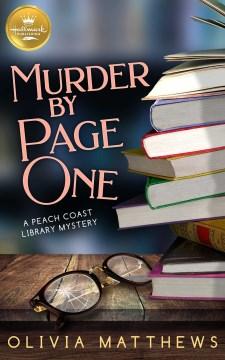 Murder by page one Olivia Matthews