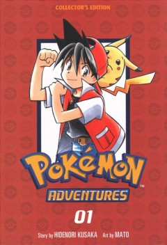 Pokemon Adventures Collector's Edition 1
