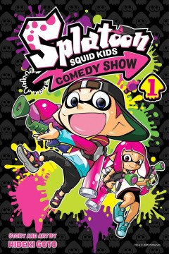 Splatoon squid kids comedy show. 1