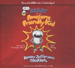 Diary of an Awesome Friendly Kid (CD)