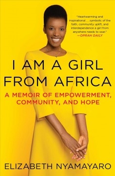 I am a girl from africa Elizabeth Nyamayaro