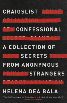 Craigslist confessional : a collection of secrets from anonymous strangers / Helena Dea Bala.