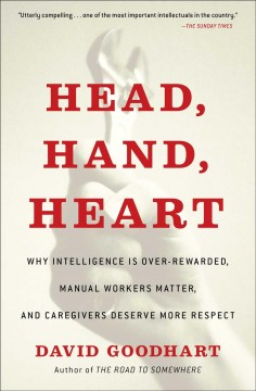 Head, Hand, Heart : Why Intelligence Is Over-rewarded, Manual Workers Matter, and Caregivers Deserve More Respect