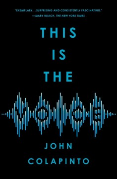 This is the voice by John Colapinto.