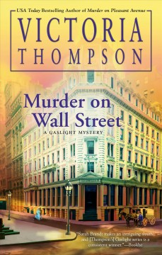 Murder on Wall Street Victoria Thompson.