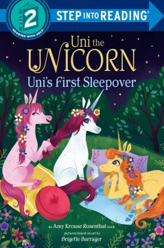 Uni's first sleepover