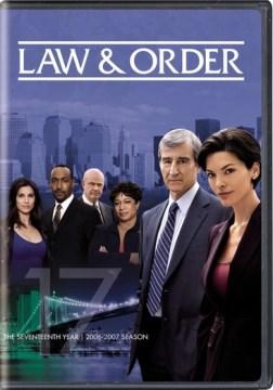 Law & order. Season 17, 2006-2007
