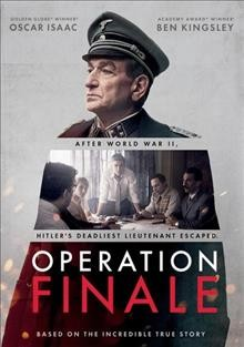 Operation Finale [DVD].